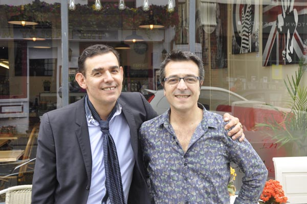 Hervé and Georges – A double act in business and life