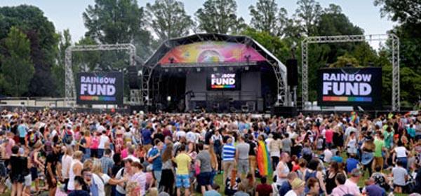 Gatwick 'come on board' with Brighton Pride 2015