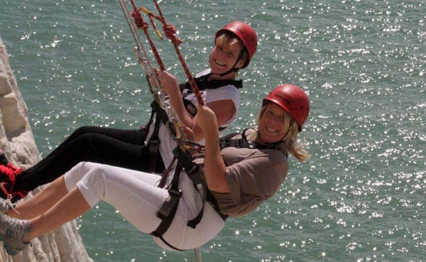 'Over the Edge' for the Martlets