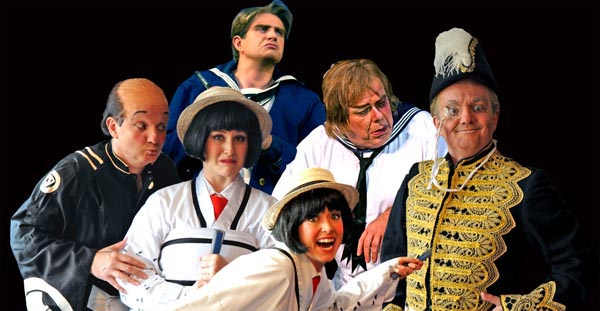 PREVIEW: Mikado and HMS Pinafore in Portsmouth
