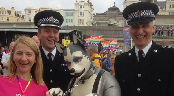 PCC proud to celebrate 25 years of Brighton Pride