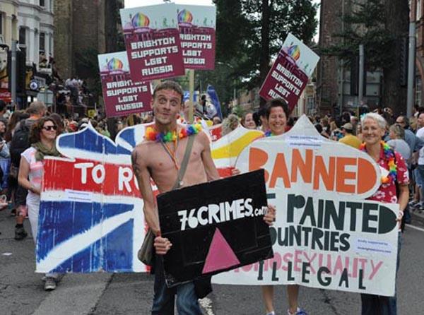 Brighton Pride road closures on Saturday, August 1