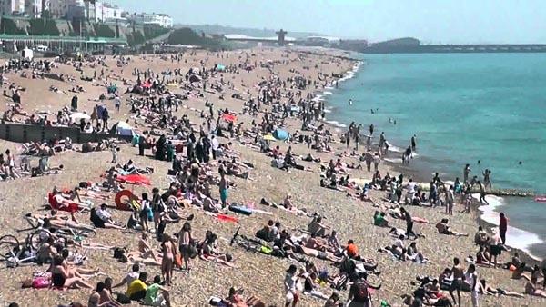 Brighton beach alert!