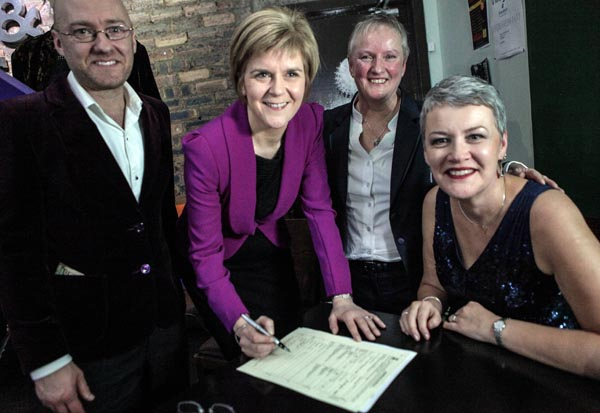 First LGBTI awards mark 'historic year' for equality in Scotland