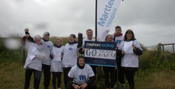 Estate Agents raise over £5,000 for the Martlets