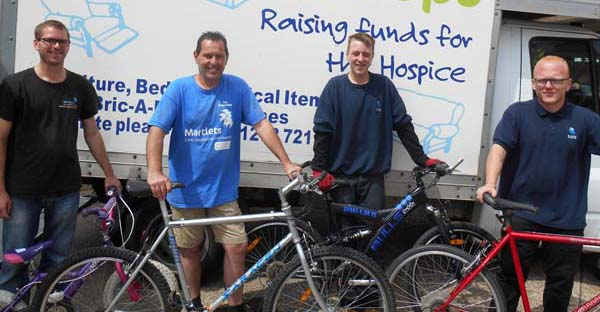 Charity bicycle initiative ticks all the boxes