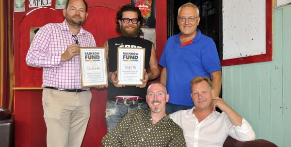 Bear-Patrol raise £3,601.60 for Rainbow Fund