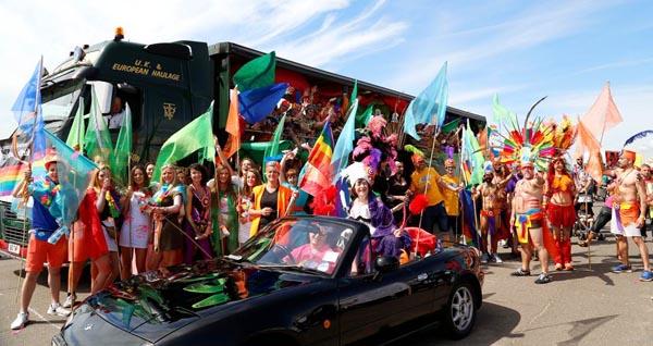 Winner of best float at Brighton Pride 2015 revealed