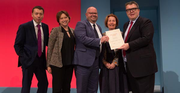 Labour Group wins national best practice campaign award