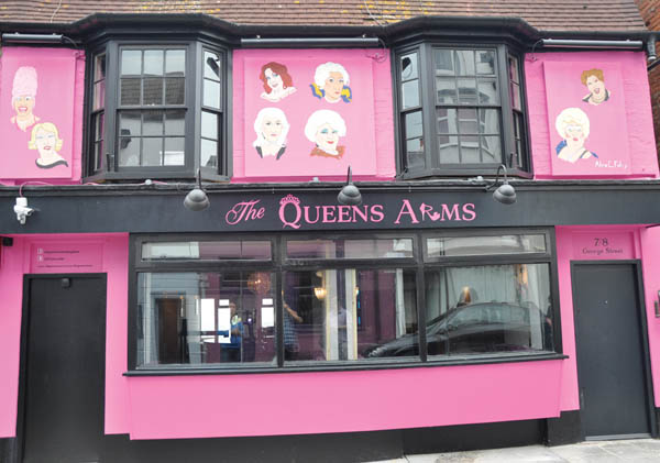 Bear-Patrol 'Bring and Buy Sale' at Queens Arms