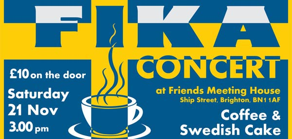PREVIEW: FIKA is coming to Brighton!