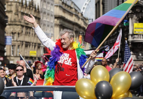 Manchester Pride raise £137,000 for good causes in 2015