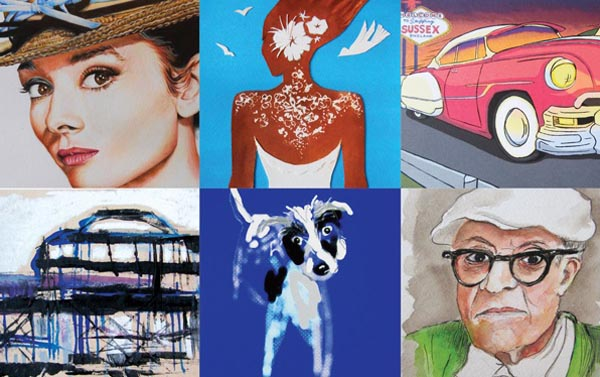Celebrity support for hospice art initiative