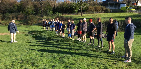 PICTURE DIARY: New gay Rugby Club for Brighton & Hove