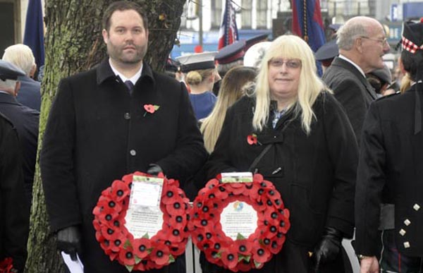 PICTURE DIARY: LGBT people remembered at War Memorial ceremony