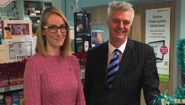 Kemptown MP visits Whitehawk pharmacy