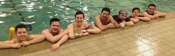 Final Trans Swimming session in 2015