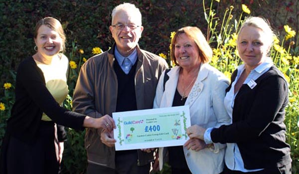 Gay group raise £400 for Worthing Charity