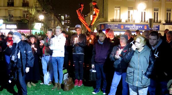 PICTURE DIARY: Brighton and Hove remembers those lost to HIV and AIDS