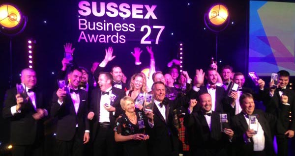 Brighton Pride recognised for 'Greatest Contribution to Sussex Charity'