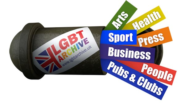LGBT History Project re-launched as the UK LGBT Archive