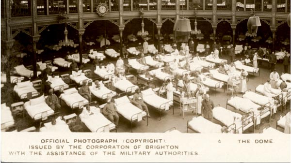 Brighton Festival: major new outdoor event will bring fascinating story from Brighton's wartime history back to life.