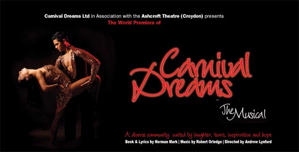 PREVIEW: Carnival Dreams the Musical