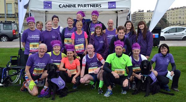 Get active in aid of Canine Partners