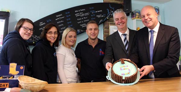 Brighton Kemptown MP starts New Year with a splash!