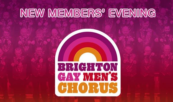 Brighton Gay Men's Chorus new members evening