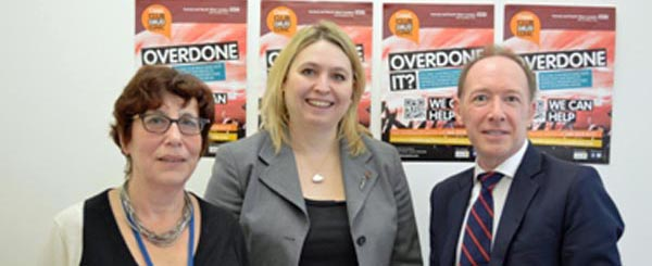 Home Office Minister visits west London clinic to find out more about 'legal highs'