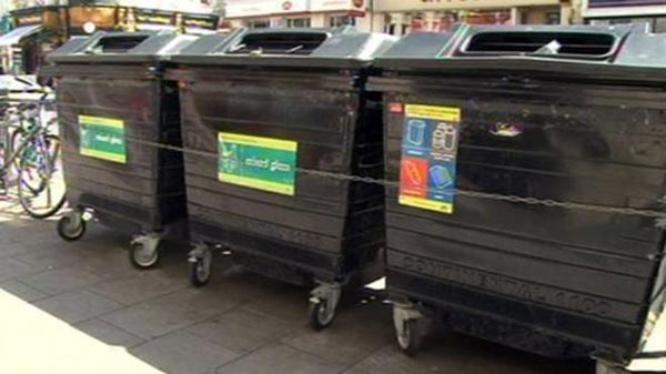 New smarter communal bins for the city