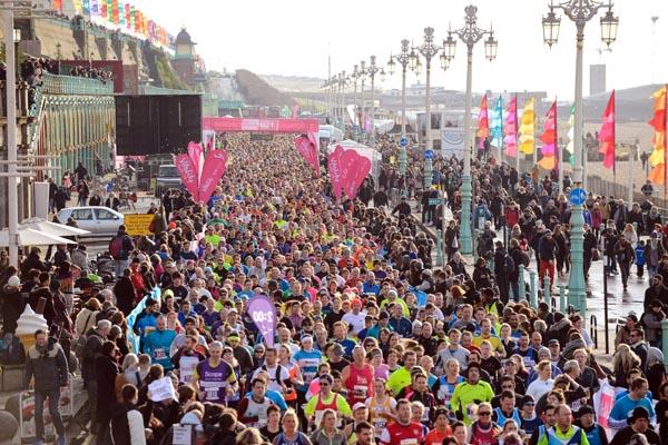 Vitality Brighton Half Marathon – Sussex Beacon call for volunteers