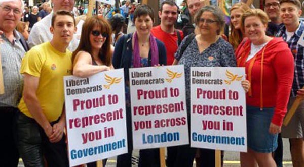 Lib Dem's guarantee London Pride funding will continue if elected