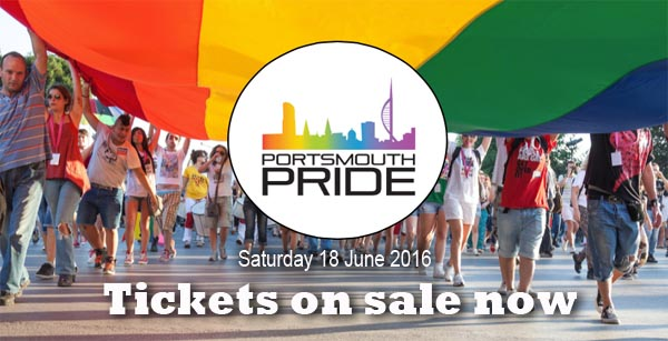 Tickets go on sale for Portsmouth Pride