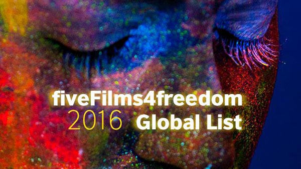 fiveFilms4freedom announce first global LGBT influencers list