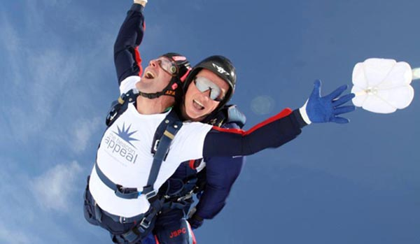 Bear-Patrol Tandem Sky Dive, are you up for the challenge ?