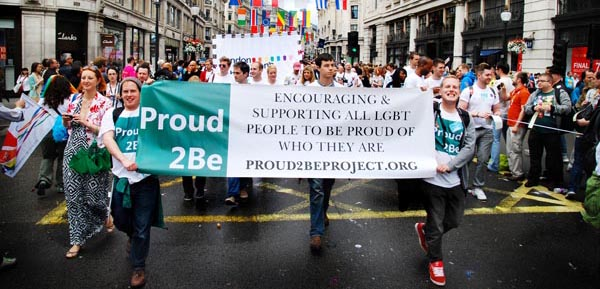 Proud2Be shows solidarity with refugees and asylum seekers