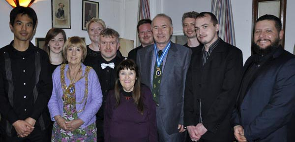 PICTURE DIARY: Dignitaries attend first performance of new LGBT song cycle