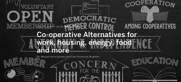 Brighton locals co-operate for a better life