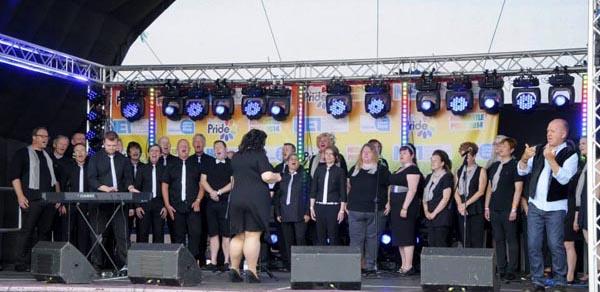 Newcastle LGBT choir celebrates fifth birthday