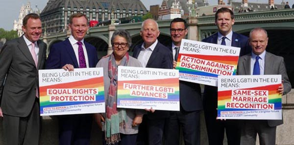 30 LGBTI MPs and Peers call for Britain to stay in the EU