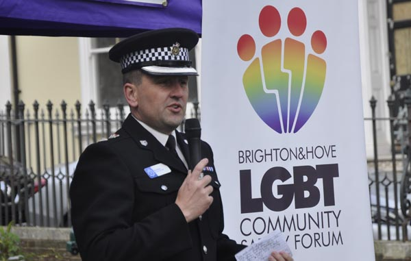 IDAHOBIT: Police Chief reassures LGBT Community