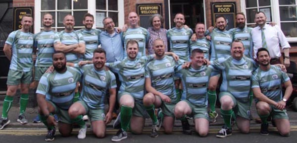 Gay rugby team gets new playing strip