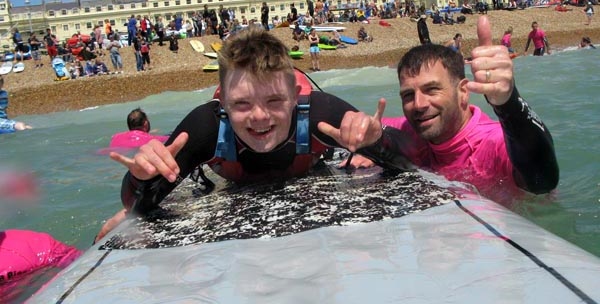 Access for all at Charity Beach Festival