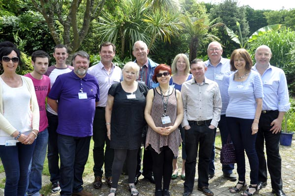 HIV charity volunteers treated to lunch