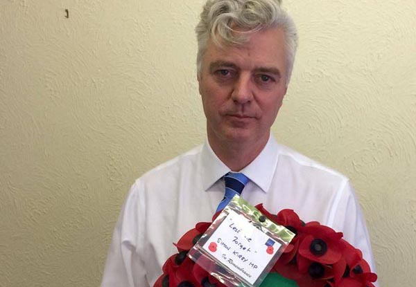 Kemptown MP pays respects at 66th Chattri Memorial Service