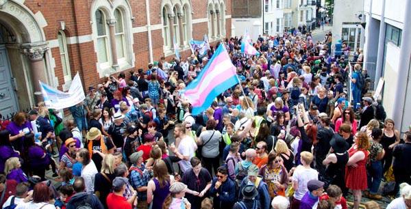 Trans Pride moves to Brunswick Square in Hove