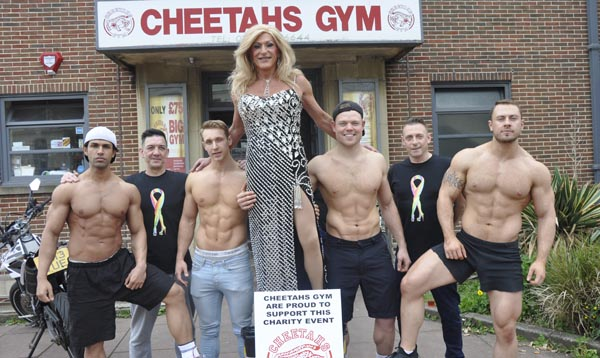 Allies donate £1,000 to 'Cancer is a Drag' charity
