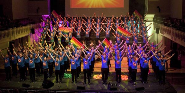 London Gay Men's Chorus release charity single for Orlando victims